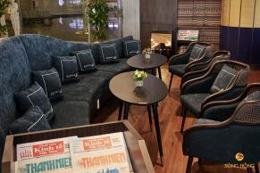 Khu ghế ngồi nghỉ dưỡng phòng khách ga Quốc Nội