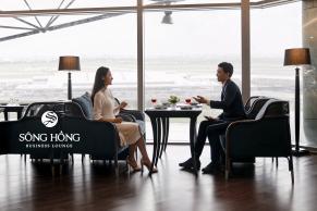 Phòng khách thương gia Sông Hồng Premium Lounge